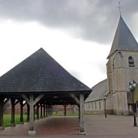 De oude hall van Hornoy-le-Bourg (Hauts de France)