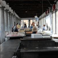 De overdekte vismarkt van Brugge