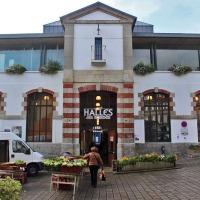 De hallen AR C'HOUI in Douarnenez (Bretagne)