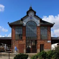 De markthall van La Mothe-Achard (Pays de la Loire)