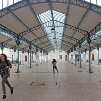 De mooie overdekte markt van Chartres (Centre-Val de Loire)