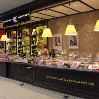 De grote markthall van Tours (Centre-Val de Loire)