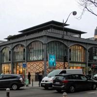 Een Parijse marché couvert zonder marché: Les Halles Secrétan